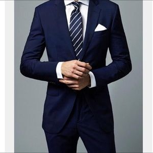 Men's Navy Blue Suit